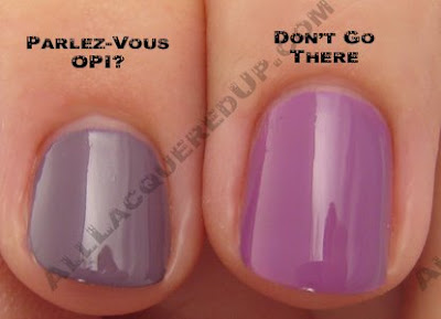 sephora by opi dont go there comparison SEPHORA by OPI Autumn and Eve Collection