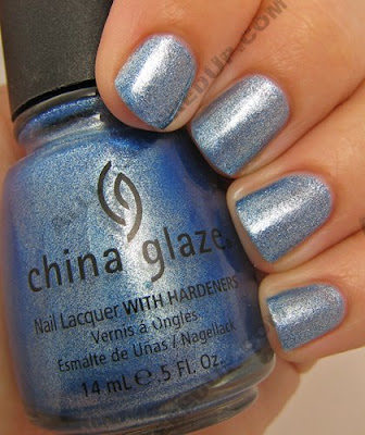 china glaze, bahama blues, winter 2008, nail polish, nail lacquer, nail color, nail colour, blue, blue island iced tea