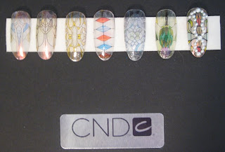 cnd production suite custom tips 3 The Nail Files   Behind the Scenes at NYFW with CND   Part 2
