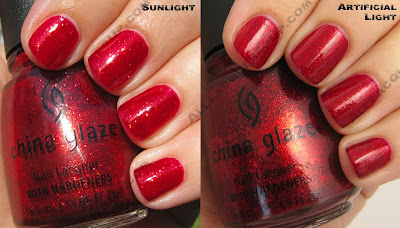 china glaze sleigh ride ruby pumps China Glaze Sleigh Ride for Holiday 2008