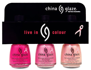 china glaze bca think pink breast cancer Think Pink for BCA with China Glaze and AII Beauty