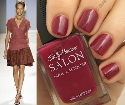 tracy reese for sally hansen beet stain wm style Tracy Reese for Sally Hansen Spring 2009