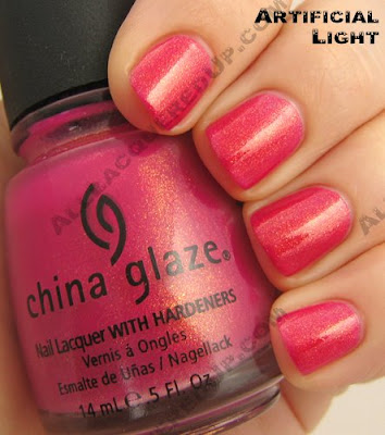 china glaze strawberry fields summer days 2009 China Glaze Summer Days