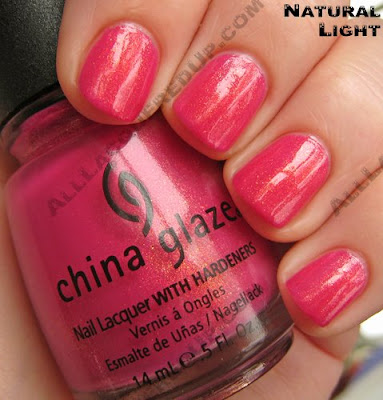 china glaze strawberry fields summer days 2009 nat China Glaze Summer Days
