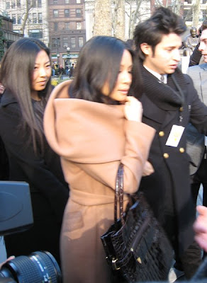 nyfw, mercedes-benz fashion week, lucy liu