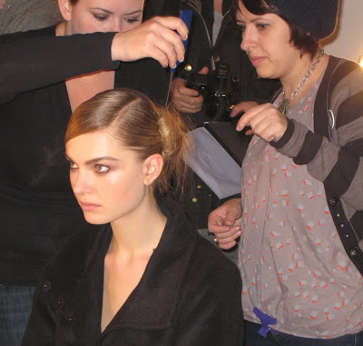 thakoon nyfw fw09 backstage ALU at NYFW   Backstage at Thakoon