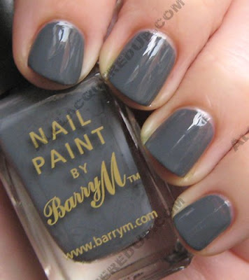 barry m nail paint grey Barry M Nail Paints