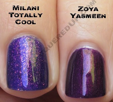 milani totally cool zoya yasmeen Swatch Request Sunday   Blues and Greens and Berries, Oh My!