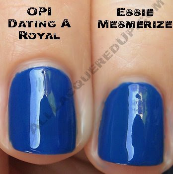 essie mesmerize opi dating royal wm Swatch Request Saturday   Summer Blues &amp; Greens