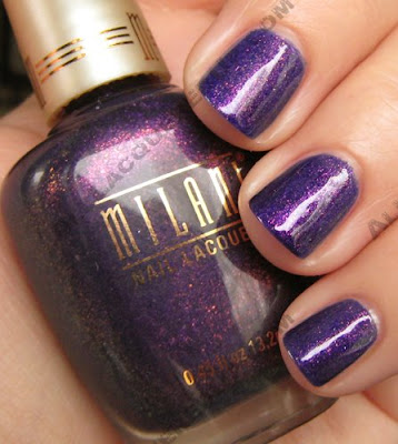 milani totally cool nail lacquer wm NOTD   Milani Totally Cool