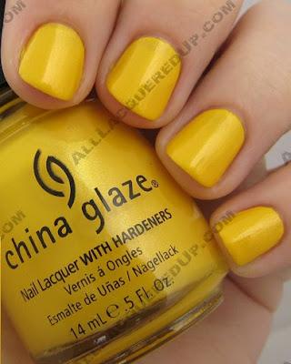 Yellow Nail Polish Trend Hot Or Nail Fail All Lacquered Up