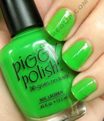 piggy polish the rose less taken The ALU Archives   Piggy Polish Sub lime