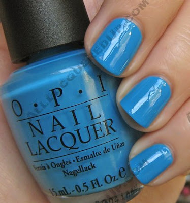 opi, no room for the blues, paige premium denim, bright pair, summer 2009, nail polish