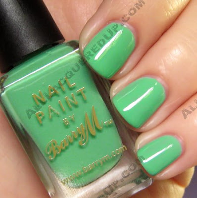 barry m, nail paint, mint green, nail polish