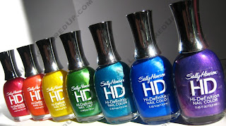 Sally Hansen HD Nail Polish Swatches : All Lacquered Up
