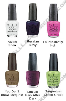 opi matte summer 2009 Coming Soon   OPI Matte Collection