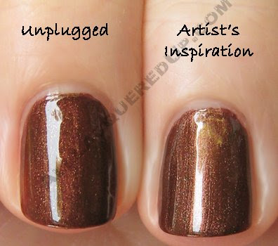 china glaze unplugged fp artists inspiration Swatch Request Sunday   Orange You Glad You Asked?