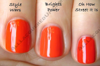 opi brights power comp Swatch Request Sunday   Orange You Glad You Asked?