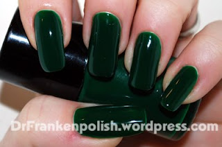 dr frankenpolish Green Jelly Whats On Your Nails? with Amanda from Dr. Frankenpolish