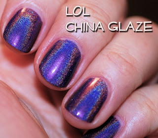 jude china glaze lol holographic Whats On Your Nails? with Jude from The Girly Show