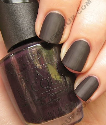 opi lincoln park after dark matte lpad OPI Matte Collection Review, Swatches & Comparisons