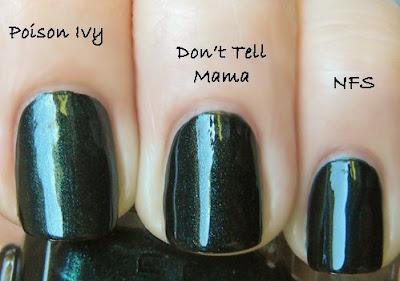 lippmann, deborah lippmann, fall 2009, nail polish, don't tell mama, marquee moon, rodarte, cnd nfs, opi jasper jade