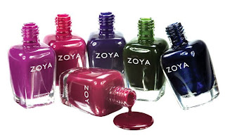 zoya dare fall 2009 nail polish collection bottles Zoya Dare Collection Review and Swatches