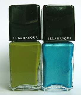 illamasqua nail varnish hectic strike Illamasqua Hectic and Strike Nail Varnish
