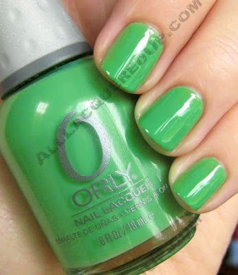orly mint mojito tiki time summer 2009 nail polish Best of Orly Spring & Summer 2009
