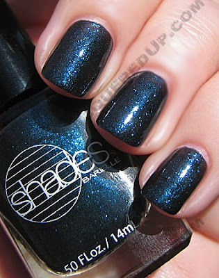 barielle blackened bleu nail polish all lacquered up sun The All Lacquered Up Collection from Barielle   Part 2