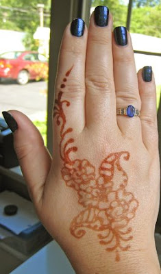 cnd inkwell colour henna body art CND Colour, Effects and Henna?