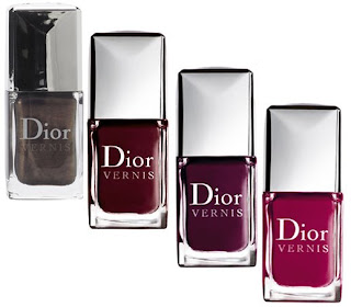 dior fall vernis lemon balm violine mystique black plum Dior Vernis Fall Nail Lacquers Swatches &amp; Review