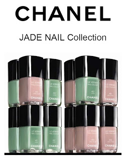 chanel jade nail collection jade rose le vernis Chanel Jade Nail Collection Swatches & Review