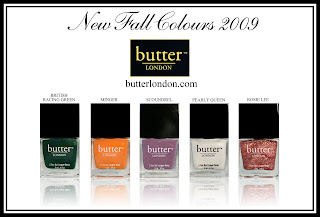 butter london fall 2009 collection butter LONDON Fall Winter 09 Swatches & Review