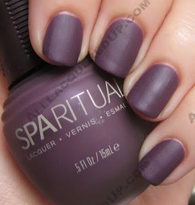 SpaRitual Matte Nail Polish Swatches & Review : All Lacquered Up
