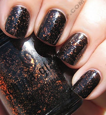china glaze fortune teller fall 2009 sun wm China Glaze Fortune Teller Nail Polish Swatches & Review