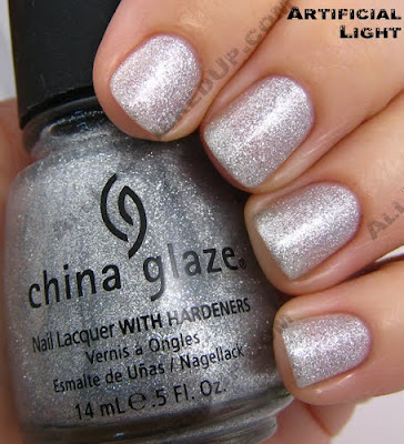 china glaze tinsel i love you so much holiday 2009 China Glaze Loves You Snow Much Holiday Swatches & Review