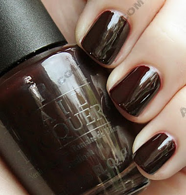 opi all a bordeaux the sled%21 holiday 2009 nail polish OPI Holiday Wishes Collection Swatches & Review
