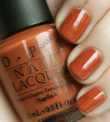 opi ginger bells holiday wishes nail polish OPI Holiday Wishes Collection Swatches & Review