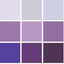 Inside out les dessous d 39 une couleur incontournable - Les nuances de violet ...