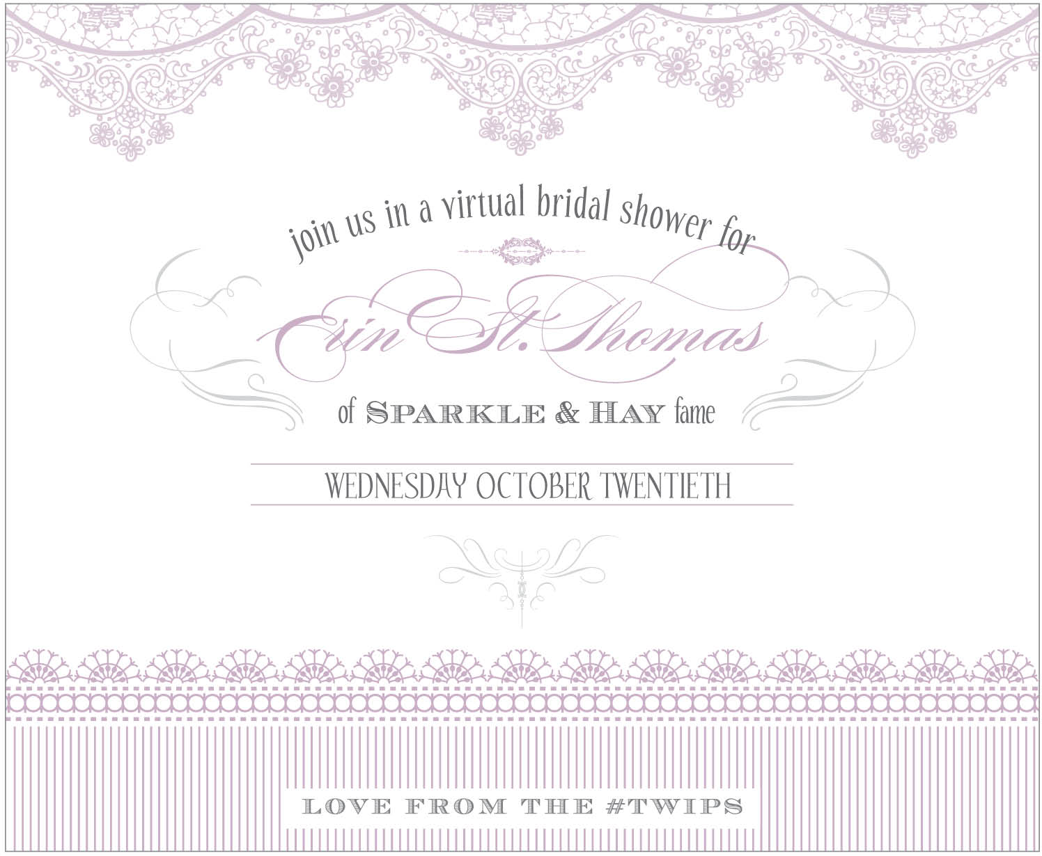 Bride Goggles Youre Invited To Erins Virtual Bridal Shower
