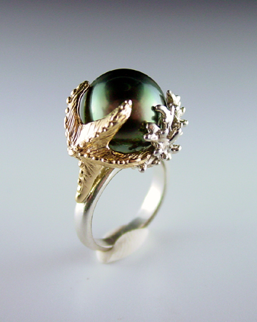 Dawn Vertrees Raw Uncut Rough Engagement Wedding Rings Starfish and