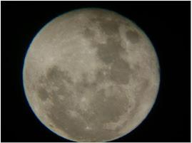 Lua - vista do mirante serrota em Petrolândia(PE)