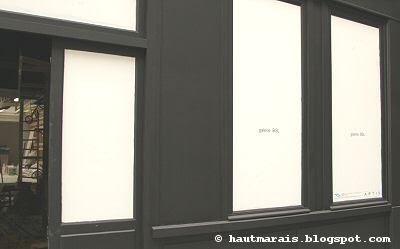 Galerie BSL, rue Charlot Paris