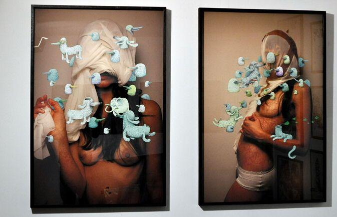 Vernissage interactif Alëxone @ Galerie LJ, rue commines