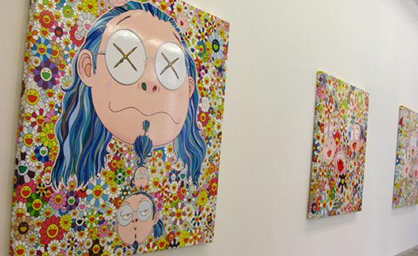 Murakami @ Galerie Emmanuel Perrotin