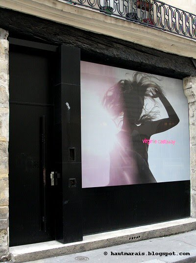 virginie castaway ouvre sa boutique rue debelleyme haut marais