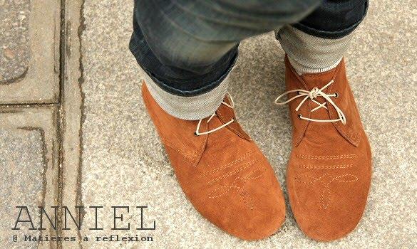 Chaussures Anniel Paris Chaussures Anniel Desert Boots