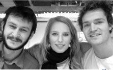 Alex, Nina and Chris