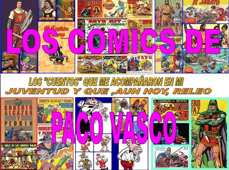 Los comics de Paco Vasco